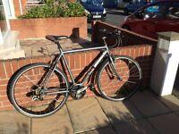 "Ridgeback Velocity R 21"" frame 6061 series aluminium hybrid bicycle"