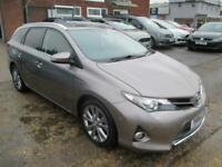 2014 Toyota Auris 1.8 VVT-h Excel e-CVT HSD 5dr Estate Hybrid – Petrol/Electric