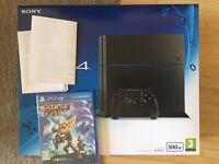 Ps4 CChassis New plus game and delivery, warranty