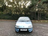2003 Fiat Punto 1.2 Active 3 Door Hatchback Blue