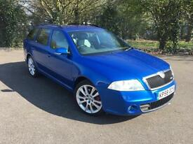 SKODA OCTAVIA 2.0 VRS TDI CR 170 BHP BLUE 5 DOOR ESTATE DIESEL MANUAL 2008