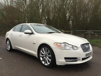 Jaguar XF White 3.0 sport fully loaded 1 owner