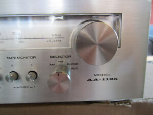 Vintage Akai AA-1125 Stereo Receiver (1979)  for sale REDUCED PR