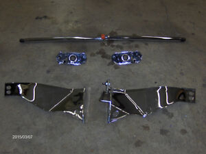 1989-1996 CORVETTE C4 UNDERHOOD CHROME  PARTS