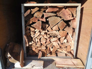 "CEDAR FIREWOOD-1/2 BUSH CORD-4'X4'X4'-CUT 24"" LONG"