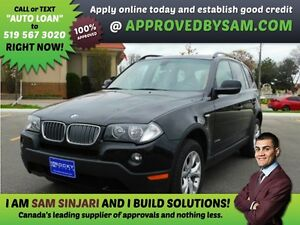 BMW X3 - HIGH RISK LOANS - LESS QUESTIONS - APPROVEDBYSAM.COM