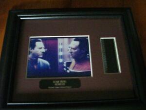 2 Star Trek Framed Pictures