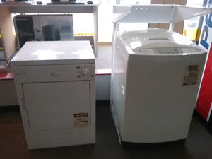 GE, Spacemaker, washer & dryer, apartment size.