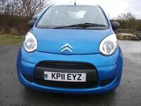 2011 11 CITROEN C1 1.0 VT 5D 69 BHP ** OPEN 7 DAYS **