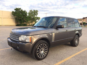2006 Land Rover Range Rover Supercharged SUV, Crossover
