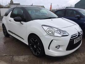 Citroen DS3 1.6e-HDi Airdream DStyle Plus, Zero Tax,l 1 lady owner 32,000 miles