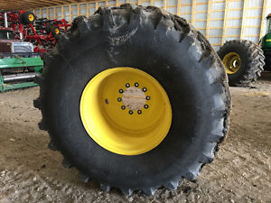900/60/32 combine tires and rims