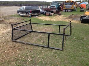 8ft truck box rack