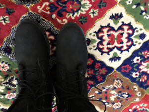 Women's timberlands size 10 black