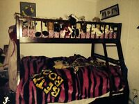 Bunk bed / cherry color