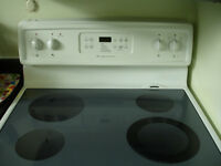 Frigidaire glass top stove