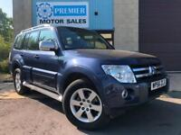2007 MITSUBISHI SHOGUN 3.2 DI-DC ELEGANCE AUTO 7 SEATER, SAT NAV, HEATED LEATHER