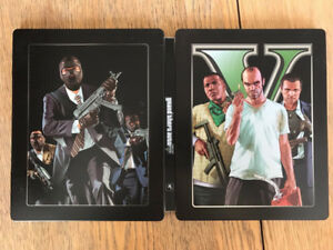 GTA 5 (Steelbook, Map), Far Cry 5, WW2 Gold, Uncharted 4, Plus