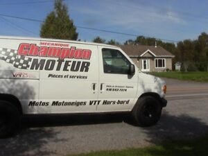 2004 Ford E250 Fourgonnette, fourgon Saguenay Saguenay-Lac-Saint-Jean image 2
