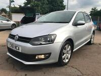 2011 Vw Polo 1.2 Match Service History 2 Keys Long Mot New Shape 4dr Petrol