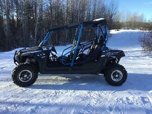 2014 Polaris 800 RZR 4 Seat Stealth Black LE EPS