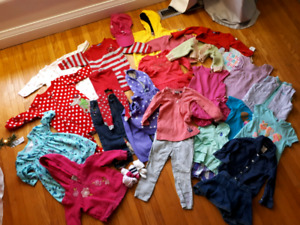 Large clothing lot 12-18 months
