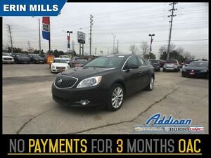 2012 Buick Verano Leather Package    LEATHER NAVI SUNROOF
