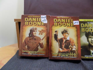 Daniel Boone DVD series season 1-4