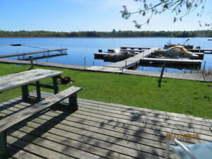 Kawartha vacation rental 2brm LAKEFRONT BEACH
