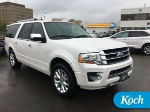 2017 Ford Expedition Max Limited MAX  Moonroof, Nav, Pwr Boards,