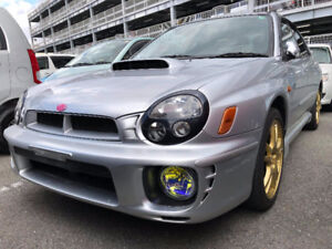 2002 Subaru Impreza WRX STi 6 speed ej207 Turbo