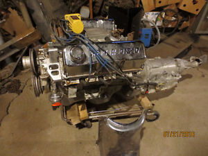 Ford 351 Cleveland Engine, C6  trans