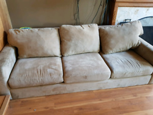 Matching couch chair and lounge chair