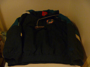 Miami Dolphins Jacket Size Medium
