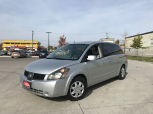2004 Nissan Quest, Only 139000km,7 Pass, DVD, Warranty available