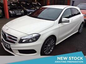 2013 MERCEDES BENZ A CLASS A180 CDI BlueEFFICIENCY AMG Sport 5dr