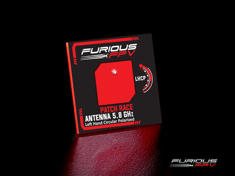 NEW Furious FPV Feather Patch Race Antenna 5.8GHz LHCP FREE US SHIP