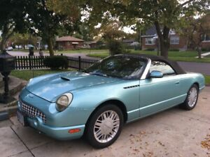 FOR SALE FORD THUNDERBIRD 2002