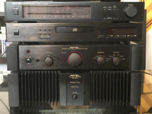 Rotel / B&W High-End System Amp, PreAmp, CD Player, Tuner, Spkrs