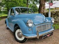 Fresh restoration Clipper Blue 1961 Morris Minor 4 door saloon, Must see car!