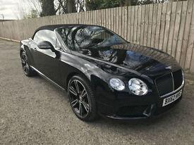 2013 62 Bentley Continental 4.0 Auto GTC V8 35.3 MPG P/X
