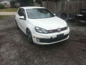 2011 Volkswagen GTI complete part out