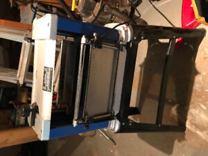 Planer with stand - Mastercraft 12.5