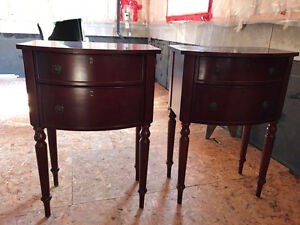 2 SIDE TABLES FOR SALE - GOOD CONDITION