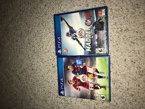 PS4 -2 games -2 controllers Windsor Region Ontario image 1