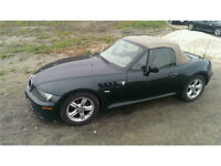 2000 BMW Z3 Convertible Roadster in-line 6