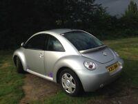 VW Beetle 2000 2.0lt Auto