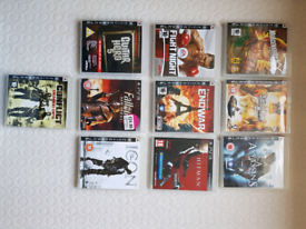 10x ps3 games , great condition