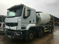 Renault 430 8x4 MIXER CHOICE OF 3 2012-13....IDEAL EXPORT