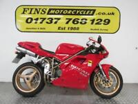 Ducati 916, Red, Low mileage, Rides well, New belts, MOT, Warranty
